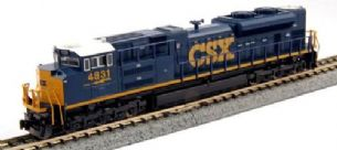 Kato (USA) 176-8436 EMD SD70ACe CSX Dark Future 4835